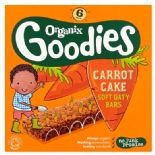 Organix 12 Month Goodies Carrot Cake Bar 6X30g